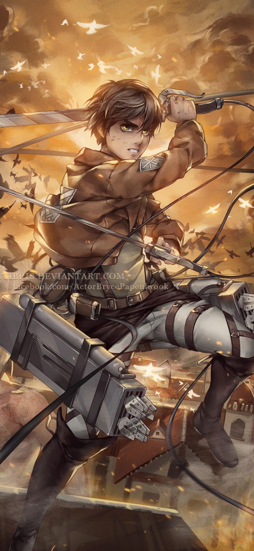 Attack On Titan Phone Wallpaper - Top Free Phone ...
