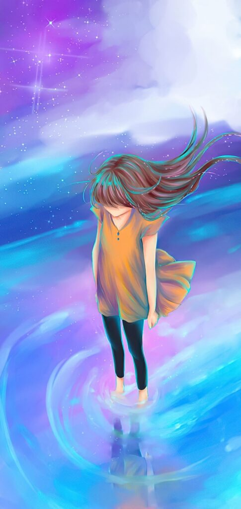 A Girl Anime Wallpaper