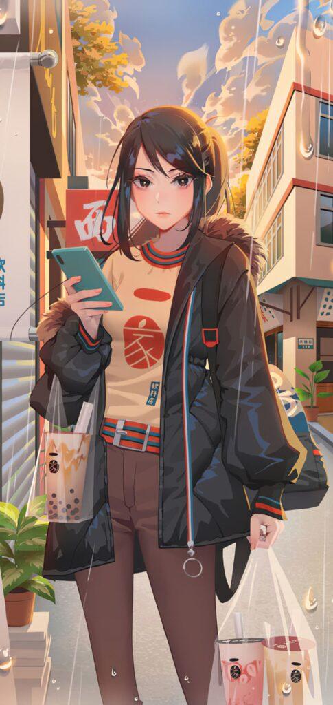 Alone Anime Wallpaper