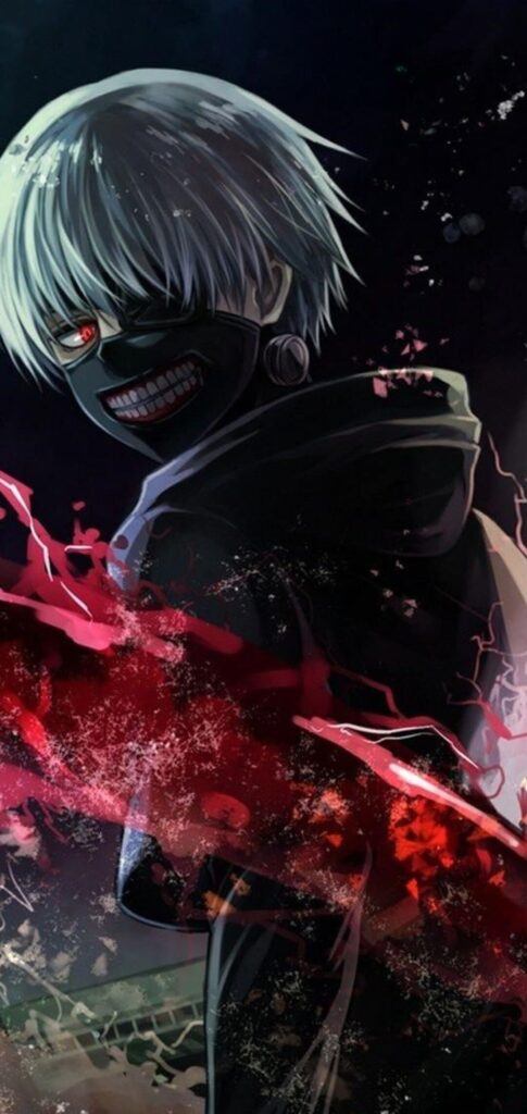 Black Anime Wallpaper
