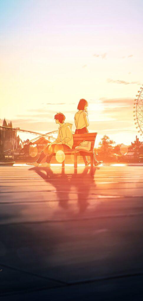 Boy And Girl Anime Wallpaper