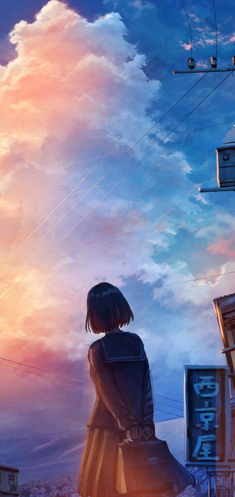 Sketch Anime Wallpaper