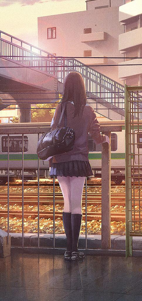 Smart Girl Anime Wallpaper