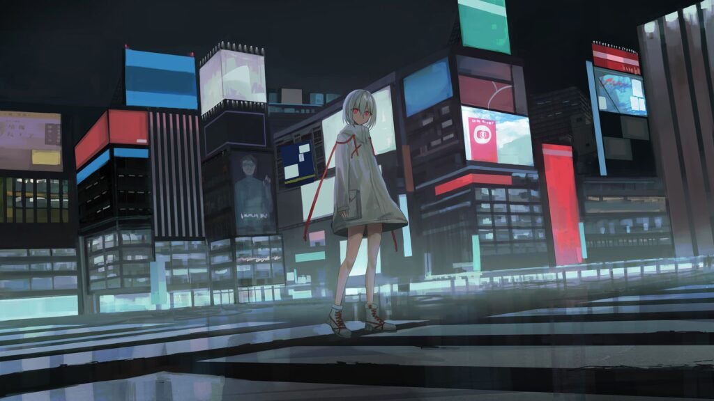 cute anime computer wallpaper