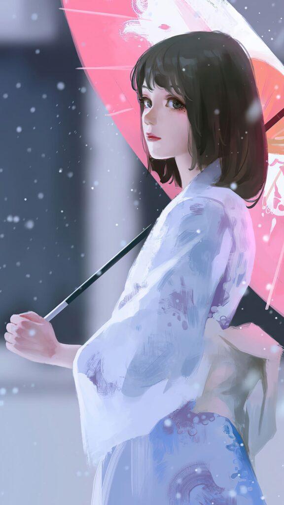 anime girl android wallpaper