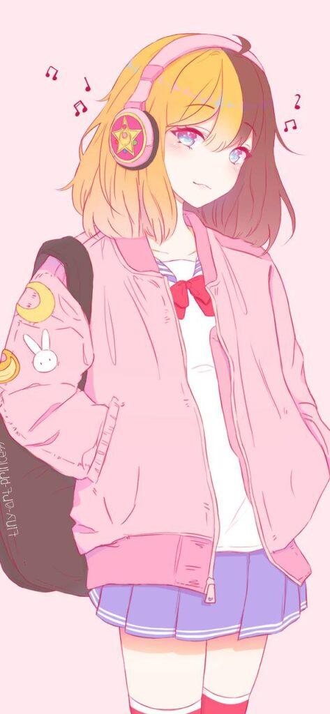 cute anime girls wallpaper