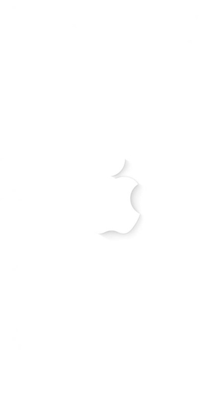 Apple White Wallpaper For Iphone