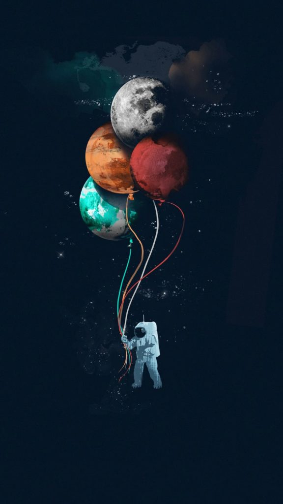 Astronaut Background