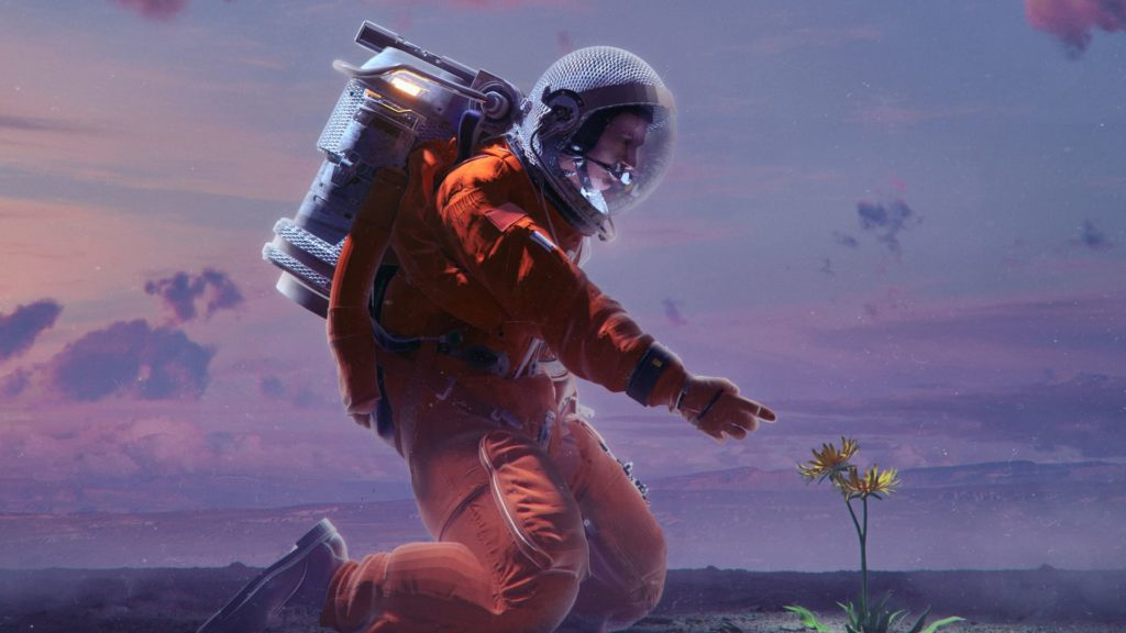Astronaut Computer Wallpaper