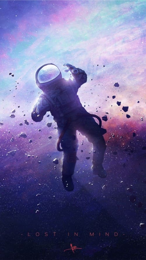 Astronaut Wallpaper For Iphone X