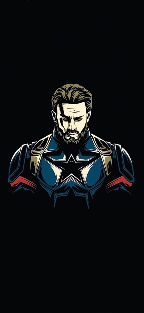 Captain America Background