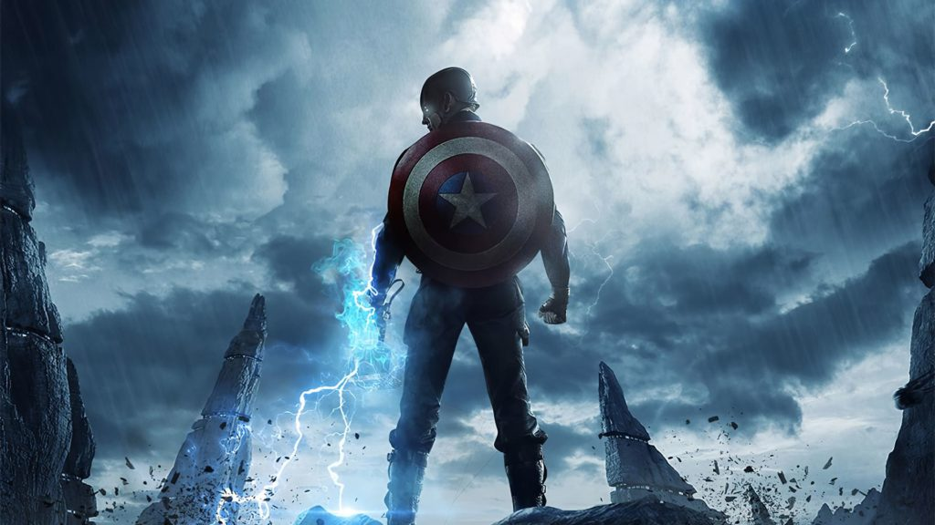 Captain America Background For Computer