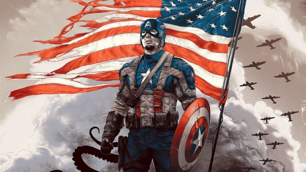 Captain America Dektop Wallpaper