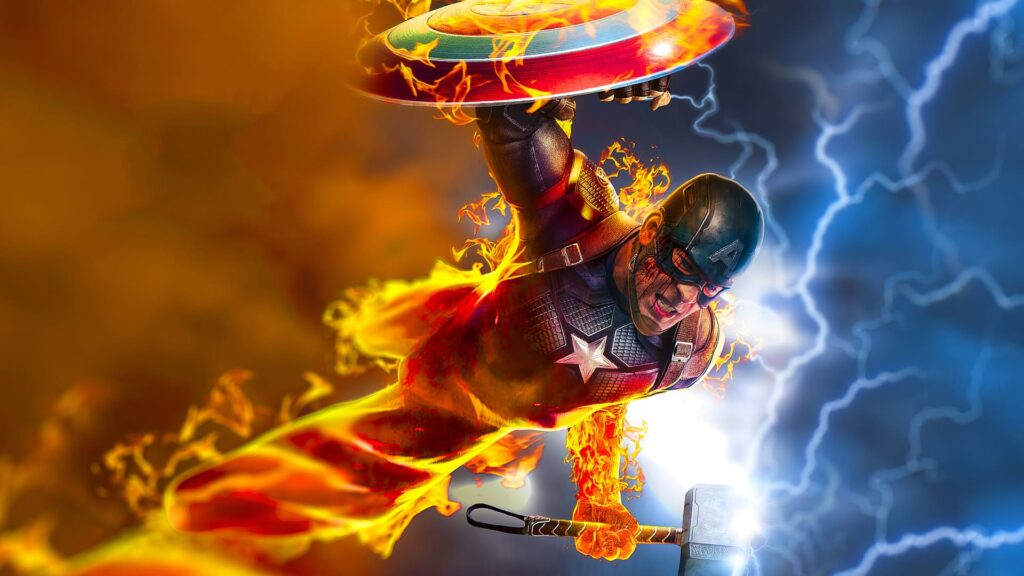 Captain America Desktop Wallpaper Hd