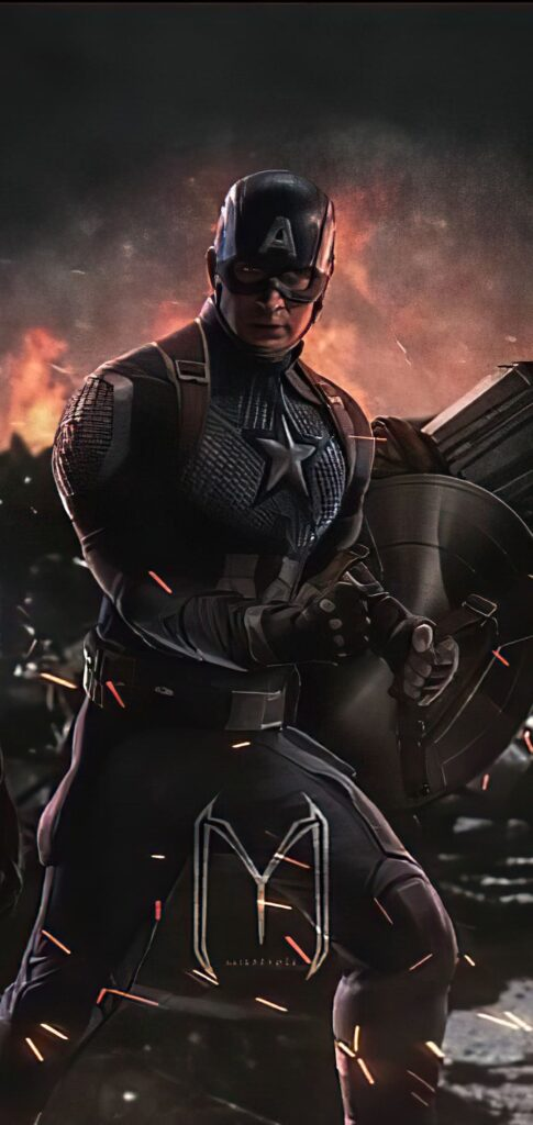 Captain America Wallpaper For Smartphone