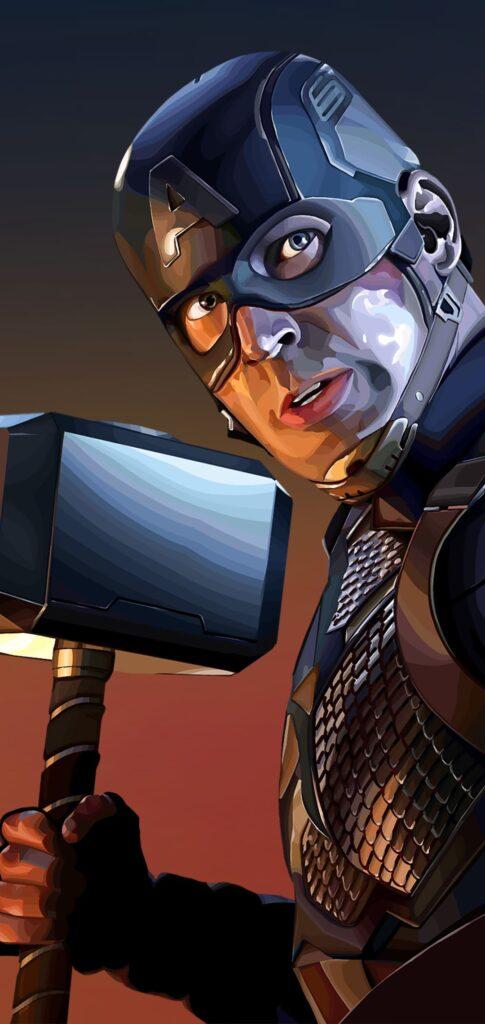 Captain America Wallpaper For Iphone