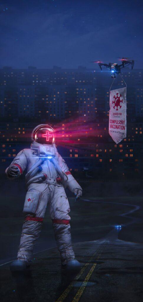 Wallpaper Astronaut
