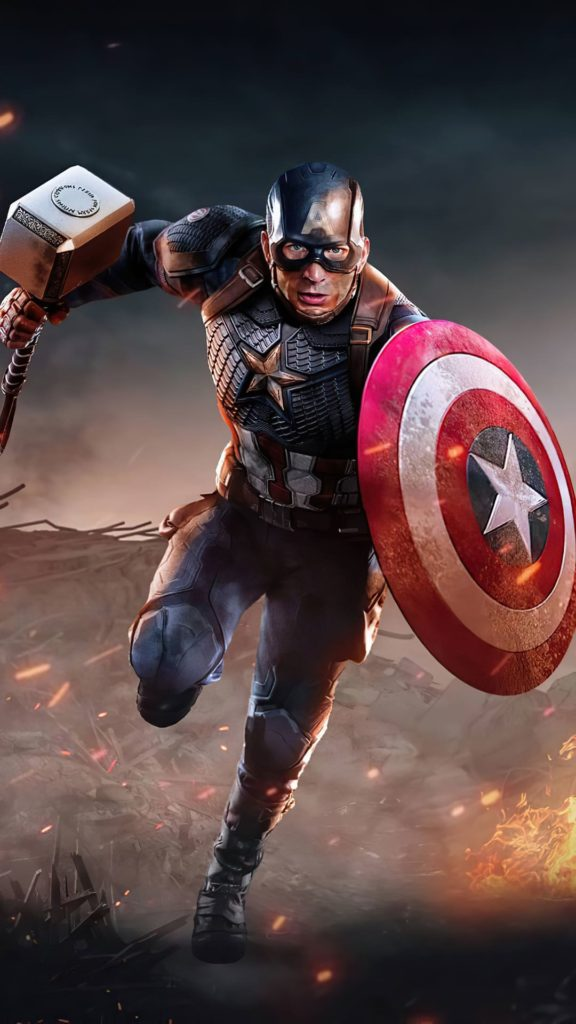 Captain America 4k Wallpaper