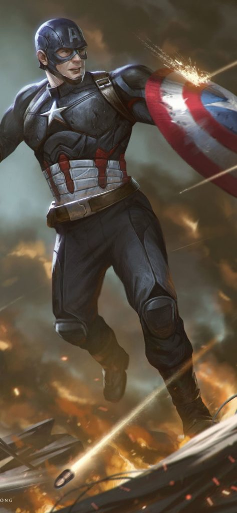Captain America Hd Wallpaper