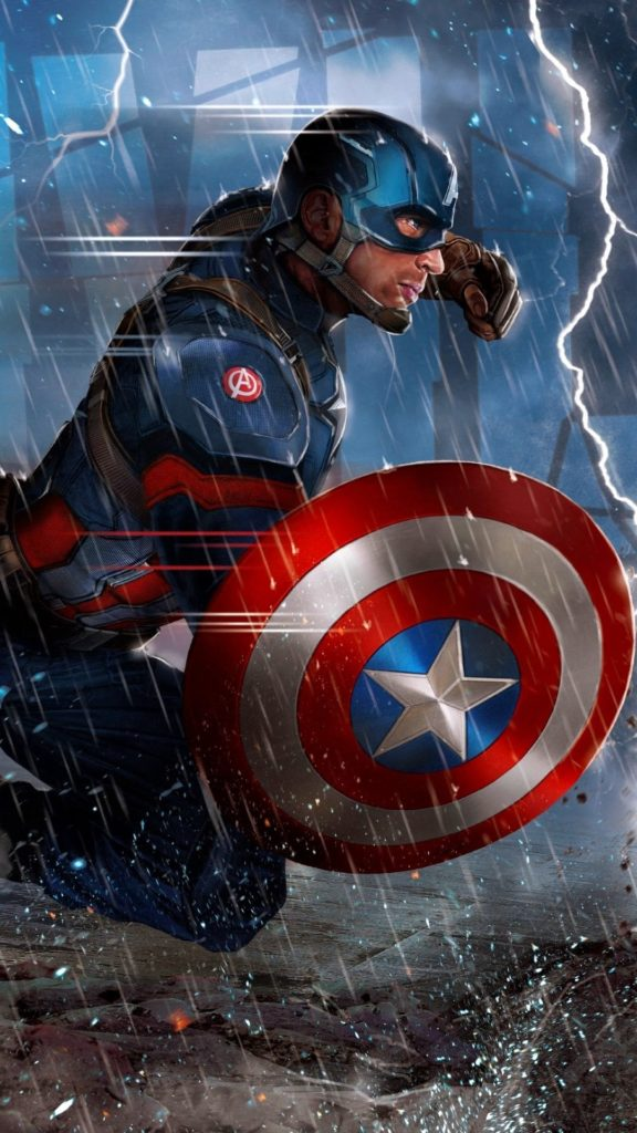 Captain America Wallpaper Phone