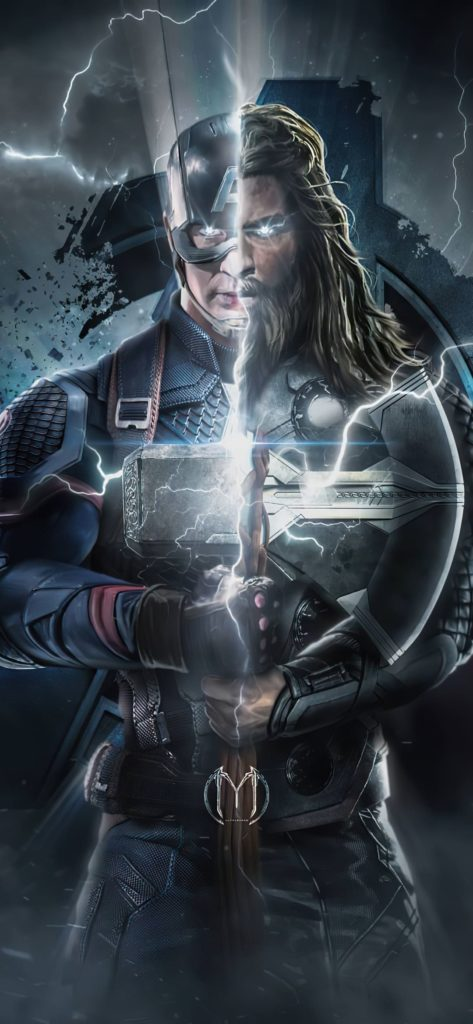 Captain America And Thor Wallpaper