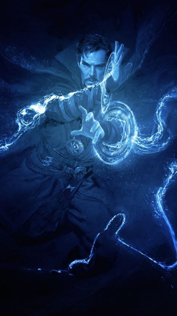 Doctor Strange Wallpaper Black