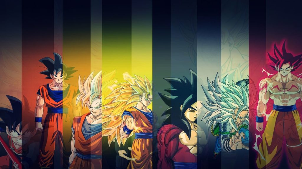 Goku Wallpaper All Forms