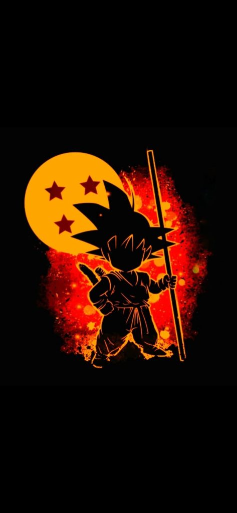 Goku Wallpaper Black And White