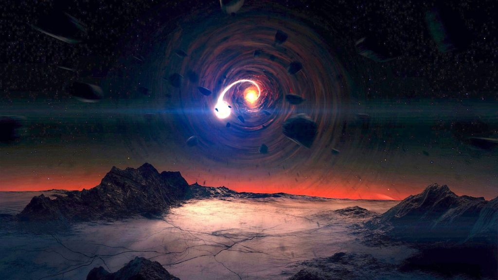 Black Hole Desktop Wallpaper