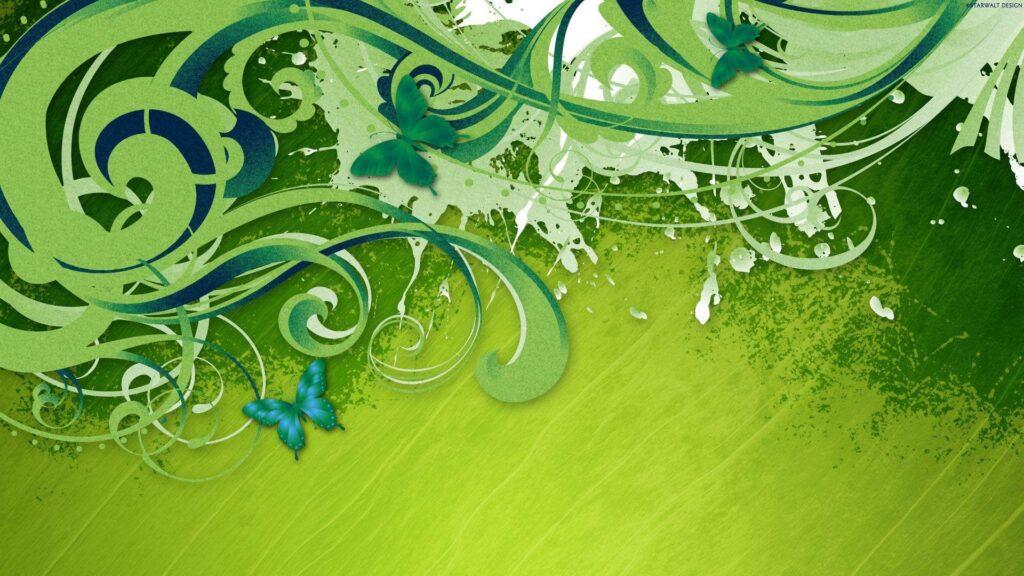 green laptop wallpaper 4k