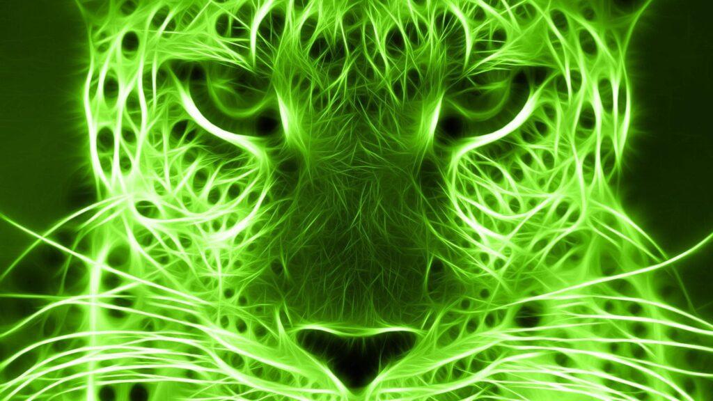 green wallpaper for pc