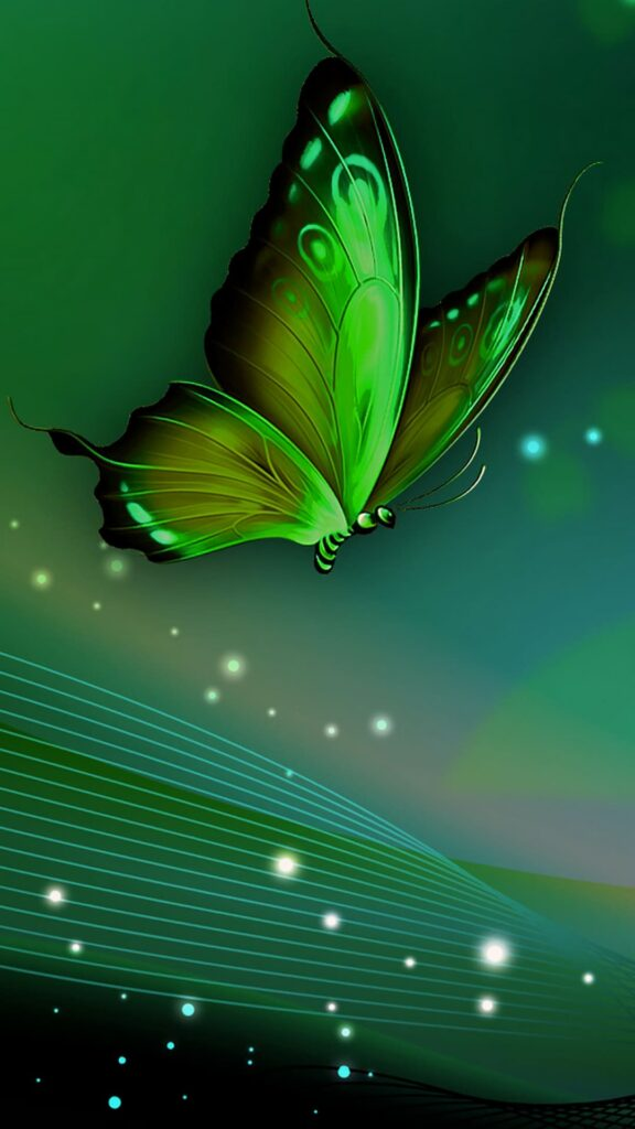 green wallpaper for iphone