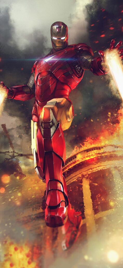 Ironman Background Android