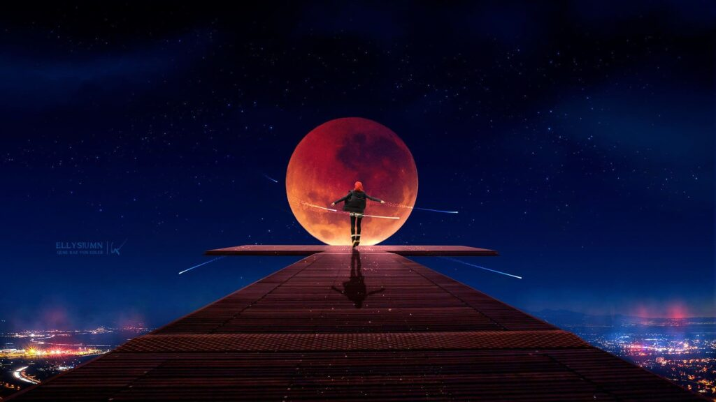 moon background for desktop