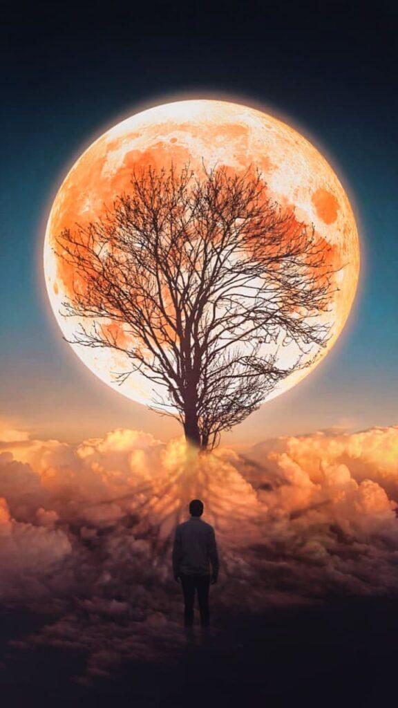 moon background hd