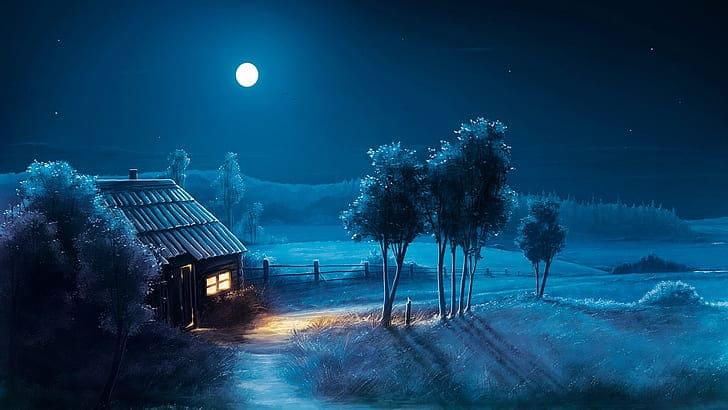 moon laptop wallpaper 4k