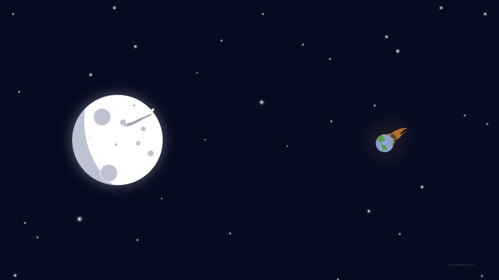 Moon Wallpaper For Computer