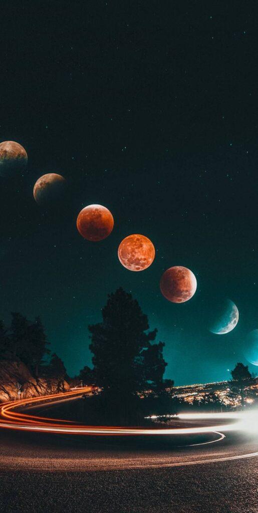 moon wallpapers 4k