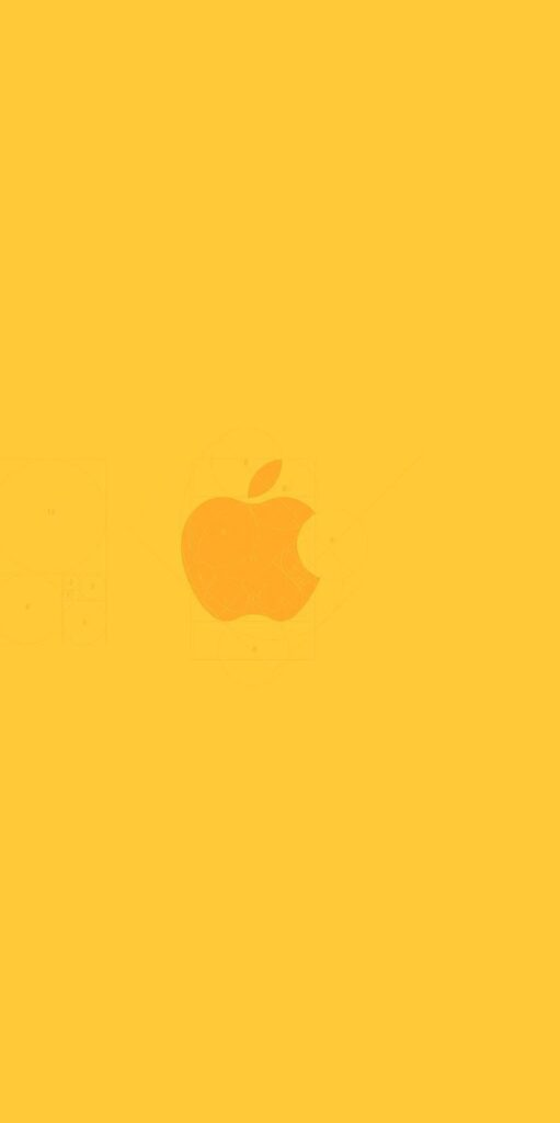 Yellow Background For Iphone