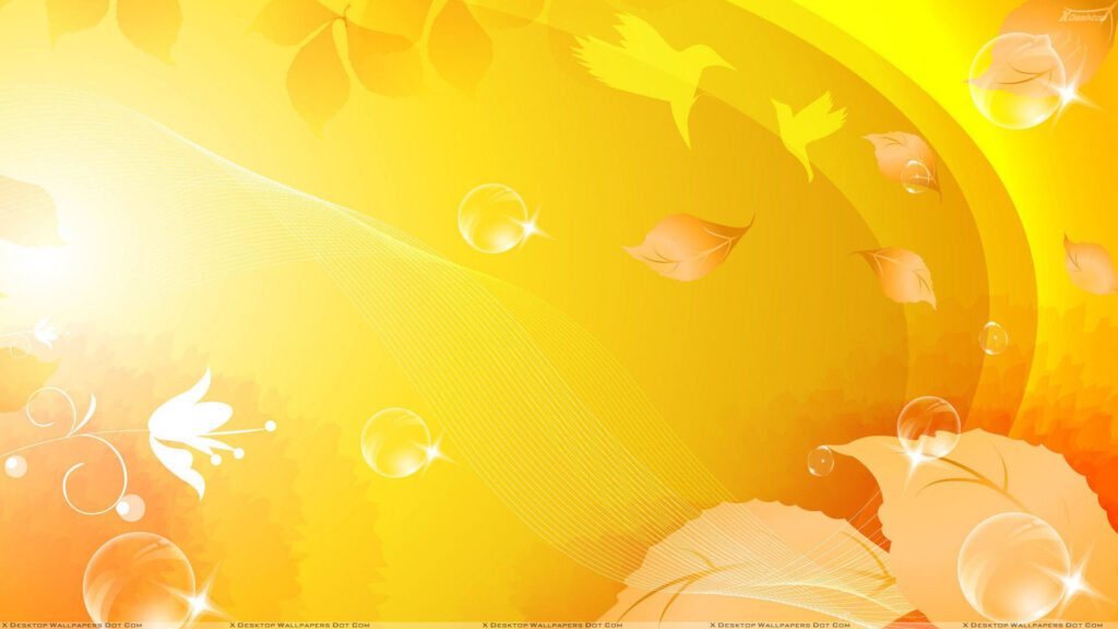 yellow desktop wallpapers hd