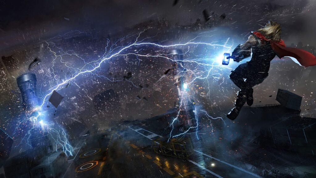 Thor Background Desktop