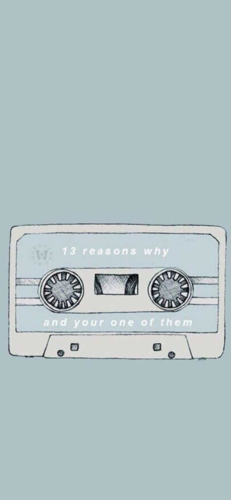 13 Reasons Why Poster Wallpaper