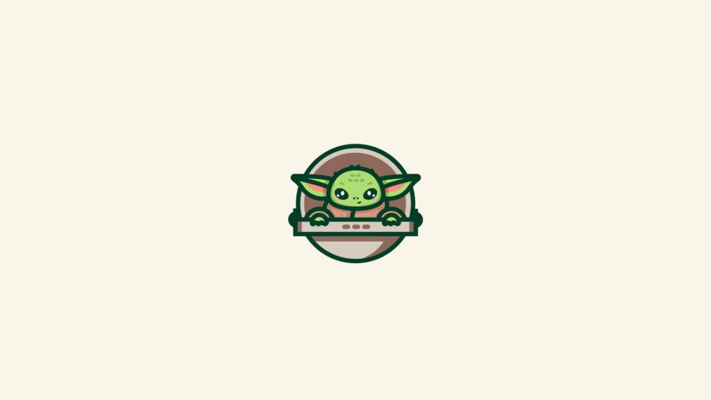 Baby Yoda Computer Wallpapers