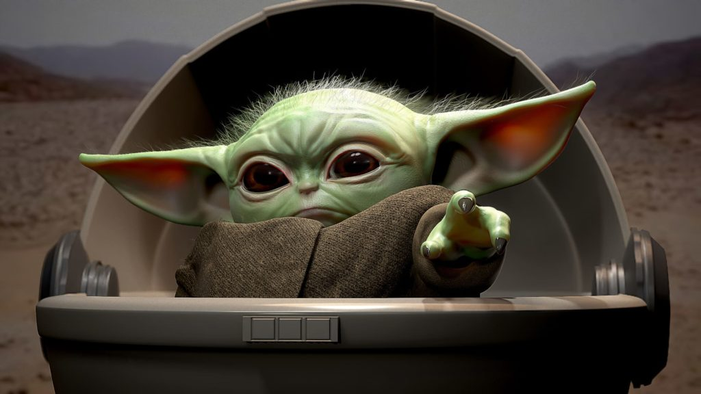 Baby Yoda Laptop Wallpapers