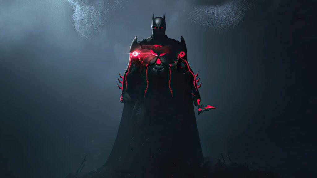 Batman Computer Background 4k (1)