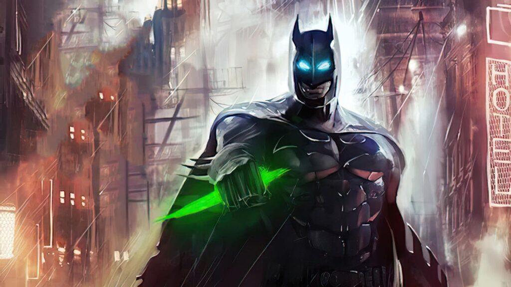Batman Computer Background 4k (2)
