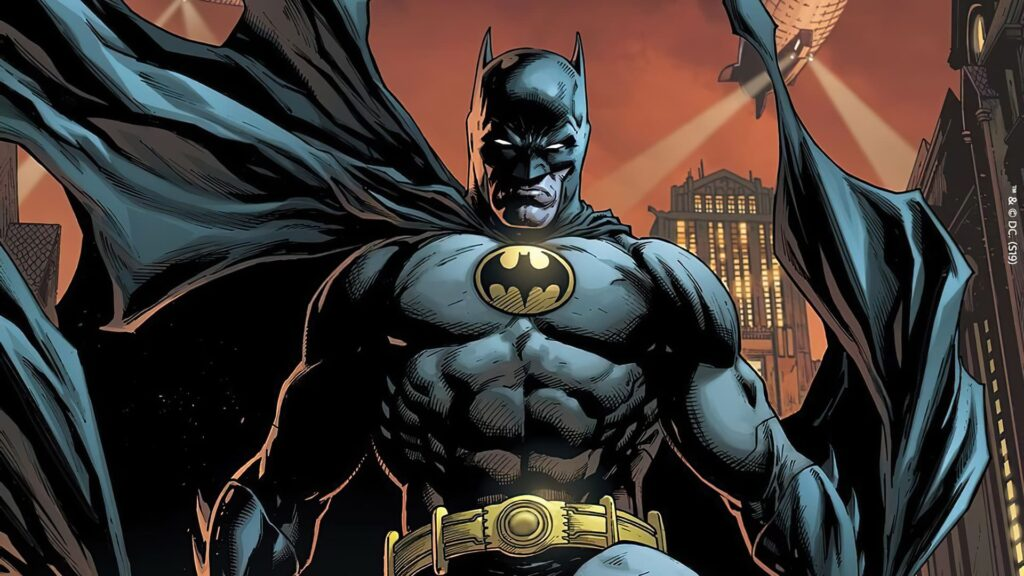 Batman Computer Background 4k (3)