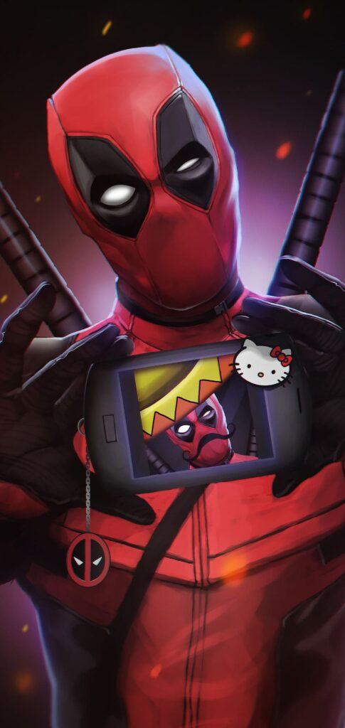 Deadpool Mobile Wallpaper