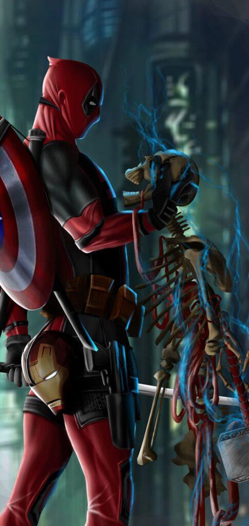 Deadpool Wallpaper For Phone