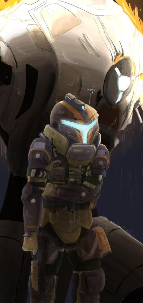 Halo Background